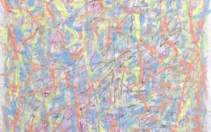 Music to watch boys to, Lana del Rey - a Music synesthesia works|PinturadeJHIH YU CHEN| Compra arte en Flecha.es