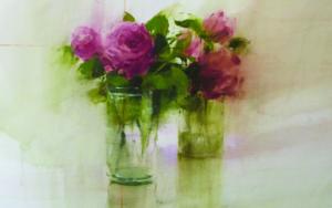 Rosas V|PinturadeFrancisco Castro| Compra arte en Flecha.es