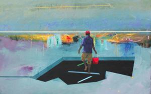 Refugio 19|PinturadeBenito Salmerón| Compra arte en Flecha.es