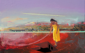 Refugio 18|PinturadeBenito Salmerón| Compra arte en Flecha.es