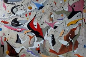 Sibelius OP 47|PinturadeValeriano Cortázar| Compra arte en Flecha.es