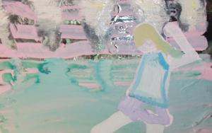 niña corriendo|PinturadeRosita Ibañez Martin| Compra arte en Flecha.es
