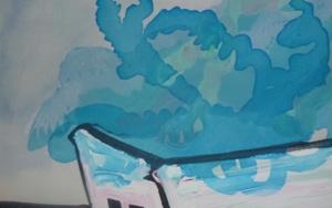 Contenedor NUBE|PinturadeRosita Ibañez Martin| Compra arte en Flecha.es
