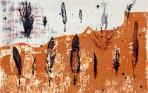 Huella de plumas 3|EsculturadeMacarena Garví| Compra arte en Flecha.es