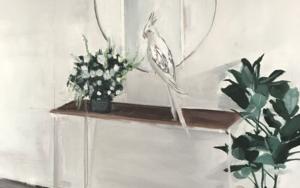 La trampa del espejo|PinturadeMarta Albarsanz| Compra arte en Flecha.es