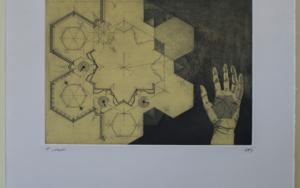 Infinite Hexagons|Obra gráficadeBianco Ximena| Compra arte en Flecha.es
