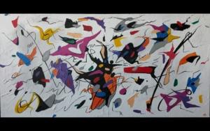I just can't wait no more (Blues)|Obra gráficadeValeriano Cortázar| Compra arte en Flecha.es