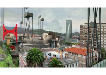 Bilbao (Palmeras)|DigitaldePaco Díaz| Compra arte en Flecha.es
