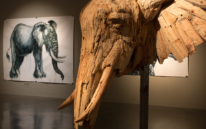 elephantidae|Esculturadesaiz manrique| Compra arte en Flecha.es
