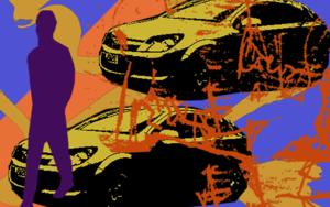 Coches|Ilustracióndeandrock| Compra arte en Flecha.es