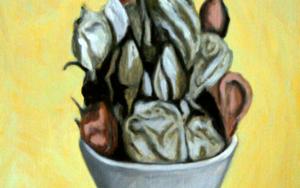 Bodegón I|IlustracióndeEnrique González| Compra arte en Flecha.es