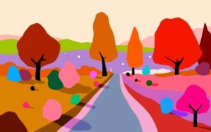 Atardecer de otoño|DigitaldeALEJOS| Compra arte en Flecha.es