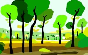 El pinar|DigitaldeAlejos Lorenzo| Compra arte en Flecha.es