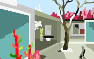 El patio|DigitaldeAlejos Lorenzo| Compra arte en Flecha.es