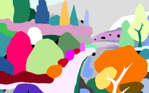 Camino al hogar|DigitaldeAlejos Lorenzo| Compra arte en Flecha.es