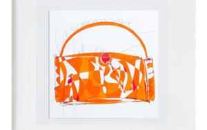 el bolso|IlustracióndeRICHARD MARTIN| Compra arte en Flecha.es