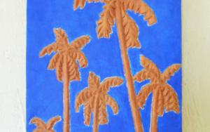 Palm trees|EsculturadeMiguel Costales| Compra arte en Flecha.es