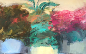 Lugares y Jardines Imaginarios XIV|PinturadeTeresa Muñoz| Compra arte en Flecha.es
