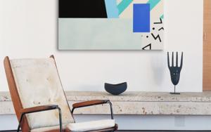 Asimetría #3|PinturadeNadia Jaber| Compra arte en Flecha.es