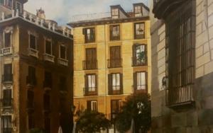 Plaza de Ramales|PinturadeCarmen Nieto| Compra arte en Flecha.es