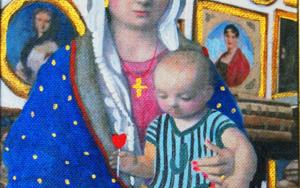 Virgen Guapa de los  Coleccionistas|PinturadePaco Sánchez| Compra arte en Flecha.es