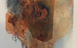 Paisaje urbano naranja CollagedeEdurne Gorrotxategi  Compra arte en Flecha.es