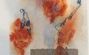 Paisaje Naranja II|CollagedeEdurne Gorrotxategi| Compra arte en Flecha.es