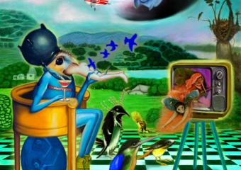 A Mesmerizing Afternoon|DigitaldeHelena Revuelta| Compra arte en Flecha.es