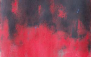 Red on black|PinturadeLuis Medina| Compra arte en Flecha.es