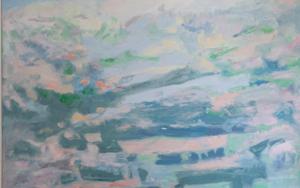 Ascenso a la cumbre|PinturadeGuillermo Serrano de Entrambasaguas| Compra arte en Flecha.es