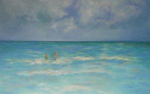 Cancún|PinturadeGuillermo Serrano de Entrambasaguas| Compra arte en Flecha.es