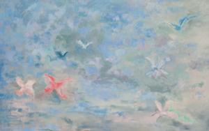 En los orígenes I|PinturadeGuillermo Serrano de Entrambasaguas| Compra arte en Flecha.es