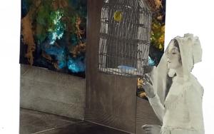 la letra escarlata CollagedeAna Agudo  Compra arte en Flecha.es