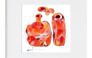 la botella y la vida IlustracióndeRICHARD MARTIN  Compra arte en Flecha.es