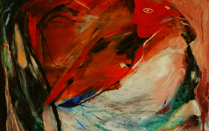 Diósa Azteca|PinturadeLika| Compra arte en Flecha.es