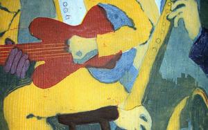 Jazz dueto IV|Obra gráficadeJenifer Carey| Compra arte en Flecha.es