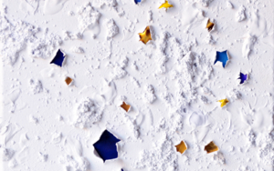 EMeRGeNCIaS Gold and Blue|PinturadeCOVA RIOS| Compra arte en Flecha.es