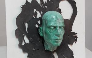Sin título (serie). Con variaciones de pátinas y fondo entre copias|Escultura de pareddeFrancisco Hernández Díaz| Compra arte en Flecha.es
