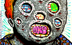 AMERICAN GRAFFITI|DibujodeVicente Aguado| Compra arte en Flecha.es