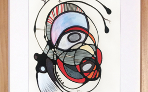 SIEMPRE AL REVÉS|PinturadeRAFAEL PICO| Compra arte en Flecha.es