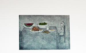 Cómetelo todo|Obra gráficadeAna Valenciano| Compra arte en Flecha.es