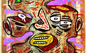 GLITCH IN THE MATRIX|DibujodeVicente Aguado| Compra arte en Flecha.es