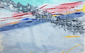 VERDE PinturadeIraide Garitaonandia  Compra arte en Flecha.es