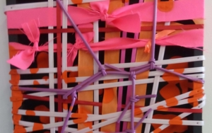 Texturas fucsias|CollagedeFabiana Zapata| Compra arte en Flecha.es