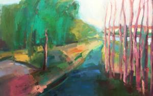Lugares y Jardines imaginarios - Burgos|PinturadeTeresa Muñoz| Compra arte en Flecha.es