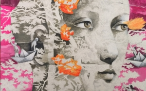 Mujer de agua III|PinturadeMenchu Uroz| Compra arte en Flecha.es