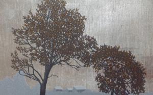 Miniatura con árbol 5 PinturadeCharlotte Adde  Compra arte en Flecha.es