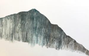 Montaña lejana|PinturadeMilena Mateva| Compra arte en Flecha.es