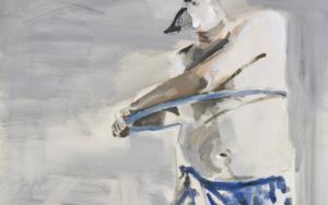 Animales en peligro de extinción  (Malvasía cabeciblanca euroasiática)|PinturadeXosé Vilamoure| Compra arte en Flecha.es