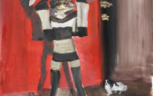 Animales en peligro de extinción  ( Albatros de cresta negra & Geco gigante )|PinturadeXosé Vilamoure| Compra arte en Flecha.es